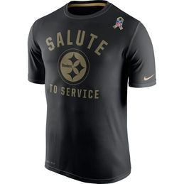 9799d23a5f2 Men's Pittsburgh Steelers Salute to Service Legend T-Shirt (Black) $35.99  -Officially licensed -Military color scheme -Screen printed Pittsburgh  Steelers ...